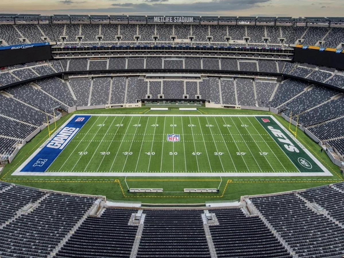 MetLife Stadium No Fans Jets Giants