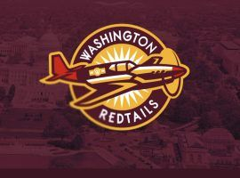 Washington's new name odds include Redtails, and one unnamed fan designed a logo for the possible new nickname. (Image: Twitter)