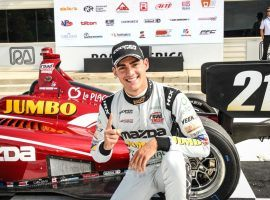 IndyCar driver Rinus VeeKay is excited fans will be in attendance at this weekend's REV Group Grand Prix (Image: 33DreamsofIndy.com)