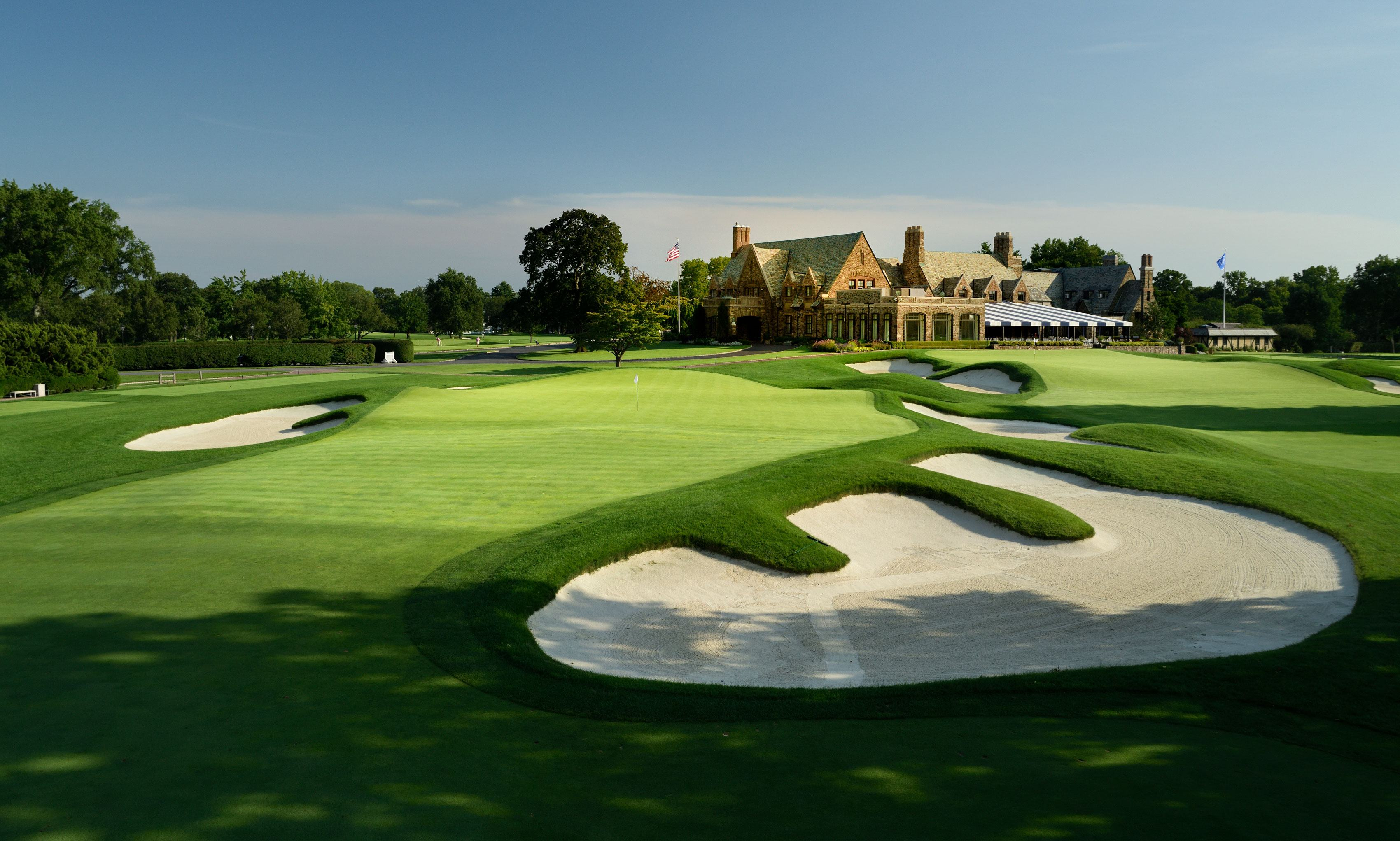 Winged Foot Golf Club US Open no fans