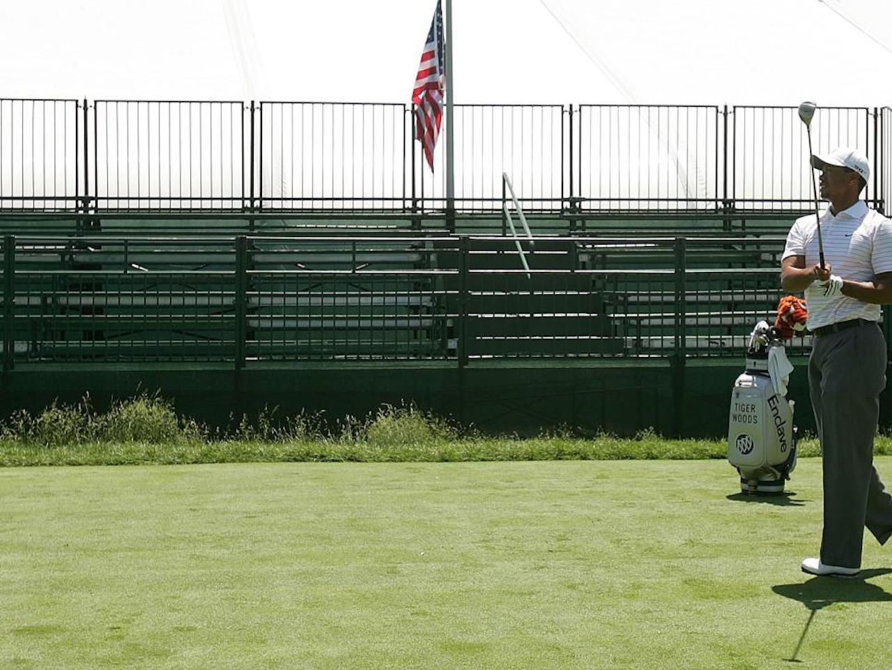 Tiger Woods PGA Tour no fans