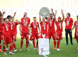 Bayern Munich won its eighth straight Bundesliga title this season, and will look to advance to the Champions League semifinals on Friday against Barcelona. (Image: EPA/EFE)