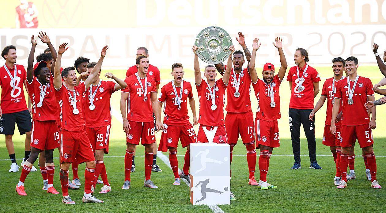 Champions League Bayern Munich Barcelona