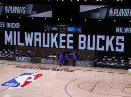The Milwaukee Bucks refused to take the floor in their playoff game against the Orlando Magic on Wednesday. (Image: Kevin C. Cox/USA Today Sports)