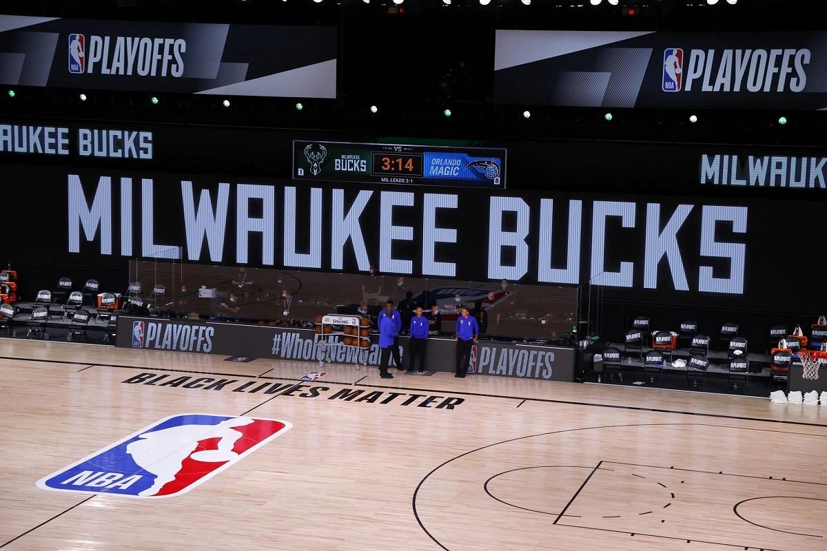 NBA Playoffs Ditunda Milwaukee Bucks Aksi Protes Boikot Penembakan Polisi