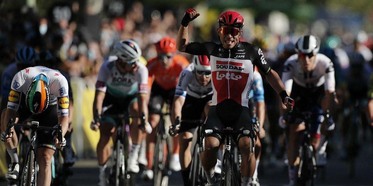 Stage 3 Caleb Ewan Tour de France Lotto Soudal