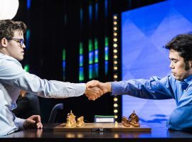 Magnus Carlsen (left) and Hikaru Nakamura (right) will renew their rivalry with a best-of-seven clash in the Magnus Carlsen Chess Tour Final. (Image: Lennart Ootes)