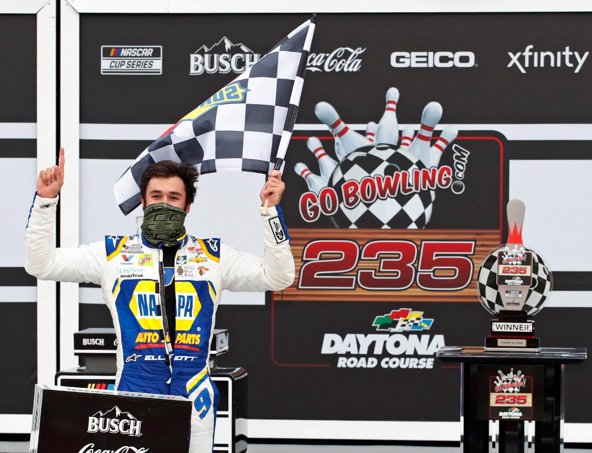 Mengejar Elliott Daytona NASCAR