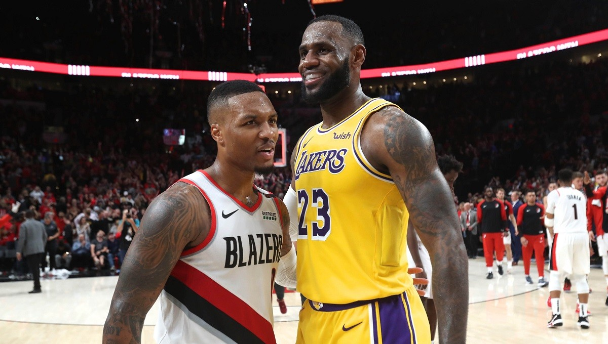 NBA playoffs betting preview Lakers Blazers