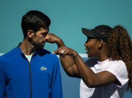 Novak Djokovic (left) and Serena Williams (right) currently stand as the favorites to win the 2020 US Open. (Image: TPN/Getty)