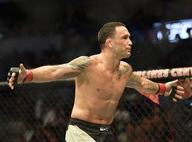 Former lightweight champion Frankie Edgar will make his bantamweight debut on Saturday against Pedro Munhoz. (Image: Jerome Miron/USA Today Sports)