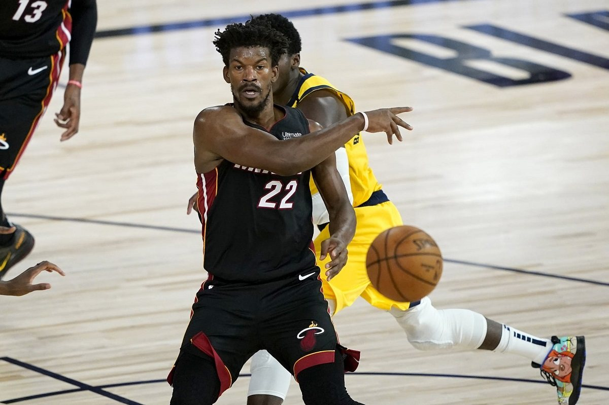 Jimmy Butler Miami Heat Indiana Pacers NBA playoffs