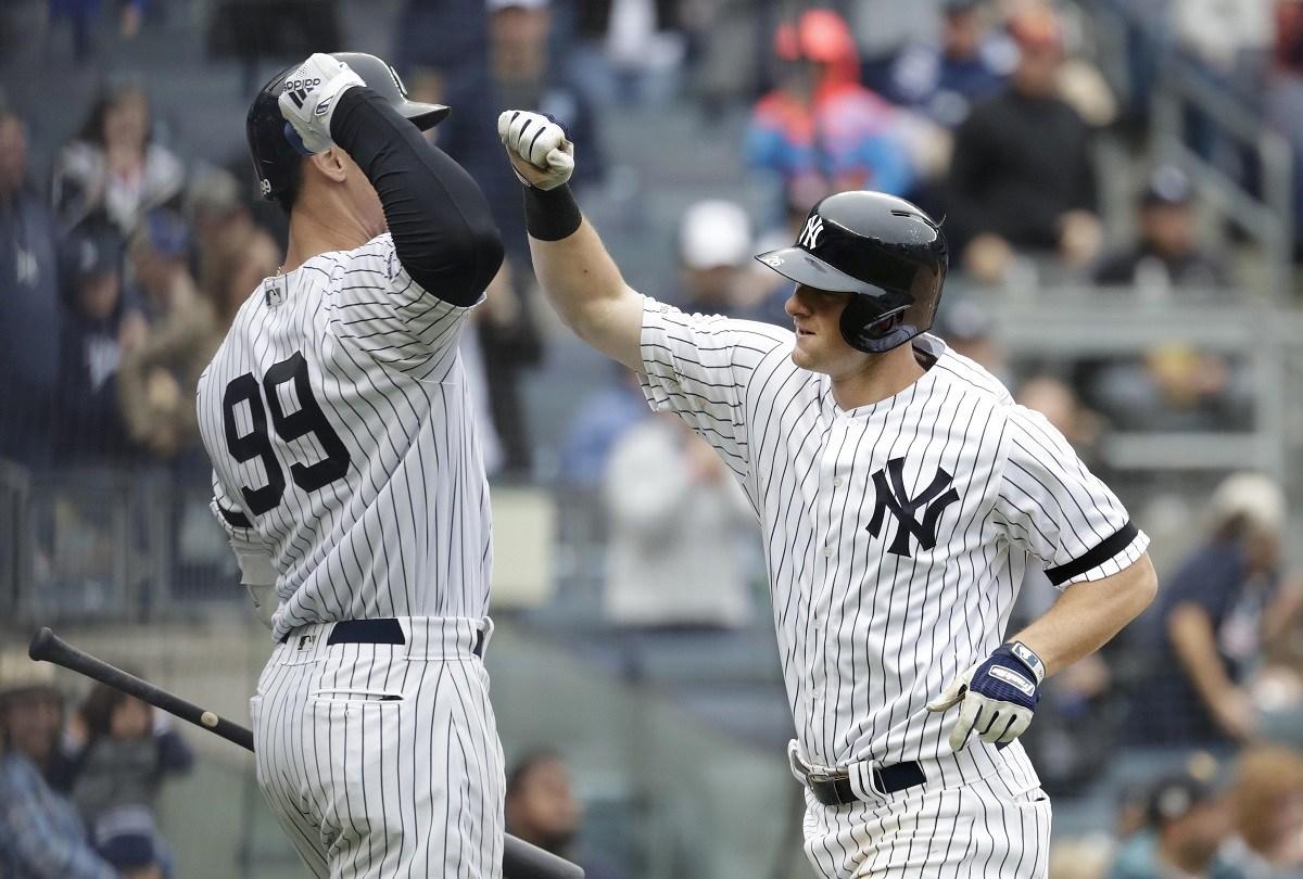 Yankees IL injury DJ LeMahieu Aaron Judge Giancarlo Stanton