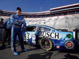 Kevin Harvick is the favorite to win the NASCAR Cup Championship, which begins Sunday at the Cook Out Southern 500 at Darlington Raceway. (Image: Getty)
