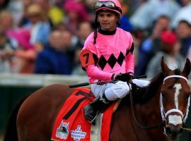 A US appellate court upheld Maximum Security and rider Luis Saez's disqualification from last year's Kentucky Derby. (Image: Tom Pennington/Getty)