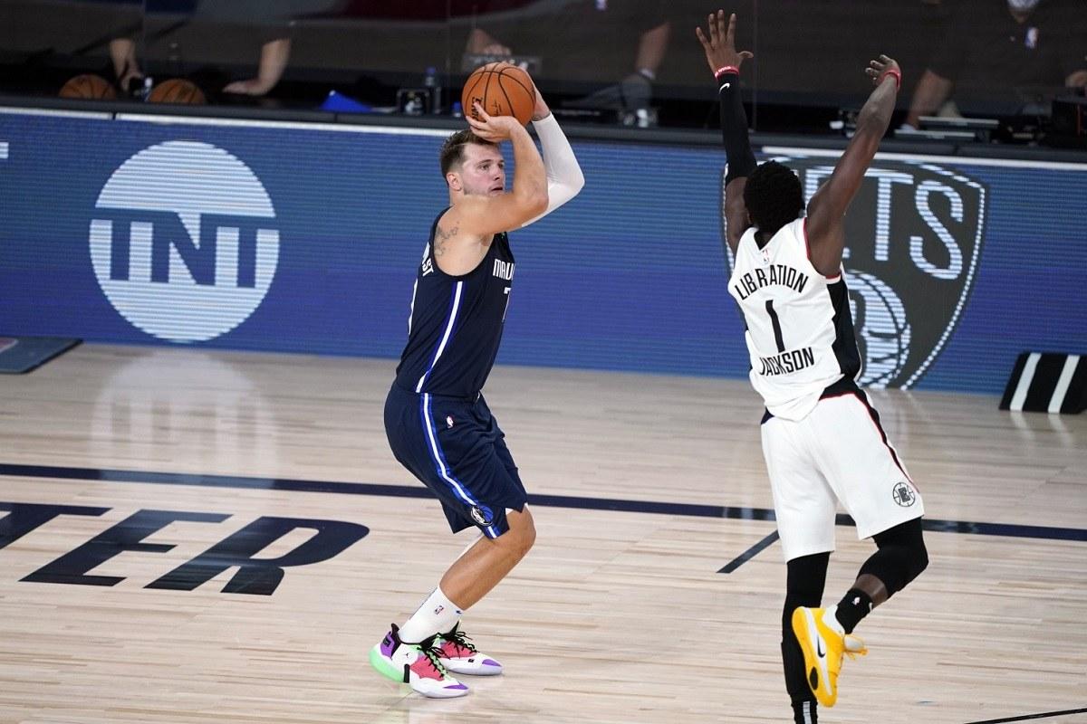 NBA Playoffs Luka DOncic Dallas Mavs Mavericks LA Clippers