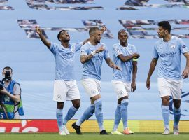 Manchester City enters its Champions League quarterfinal as a prohibitive favorite against Lyon. (Image: Ricardo Nogueira/Eurasia Sport/Getty)