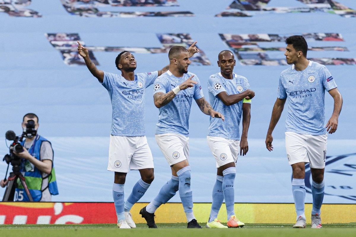 Manchester City Champions League quarterfinal