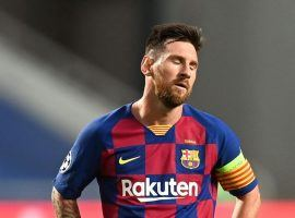 Lionel Messi has informed Barcelona that he plans to leave, but the Spanish club is fighting to keep their star player. (Image: Getty)