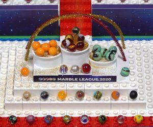 Marble Olympics Racing League 2020 Savage Speeders Minty Maniacs