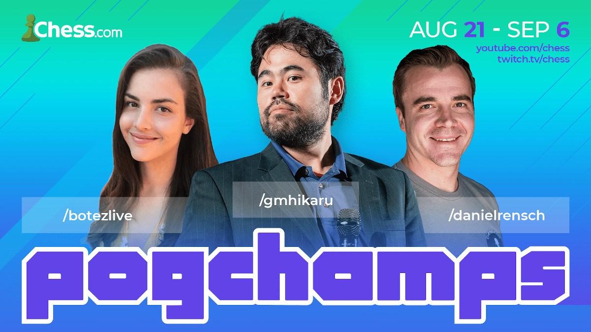 Pogchamps 2 chess tournament