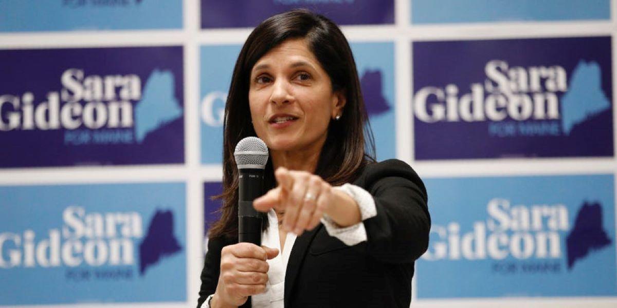 Taruhan pemilihan senat Sara Gideon milik Maine