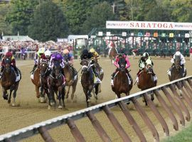 The Saratoga racing season is a crucial financial engine for the New York Racing Association. One of the country's largest racing organizations lost $6.7 million in the second quarter and will cut races out of its Belmont and Aqueduct fall meets. (Image: Erica Miller/Daily Gazette)