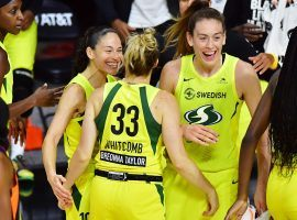 The Seattle Storm have the best record in the WNBA at 11-3. (Image: Julio Aguilar/Getty)