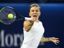 Simona Halep became the latest player to withdraw from the US Open, announcing her decision on Monday. (Image: Ahmed Jadallah/Reuters)