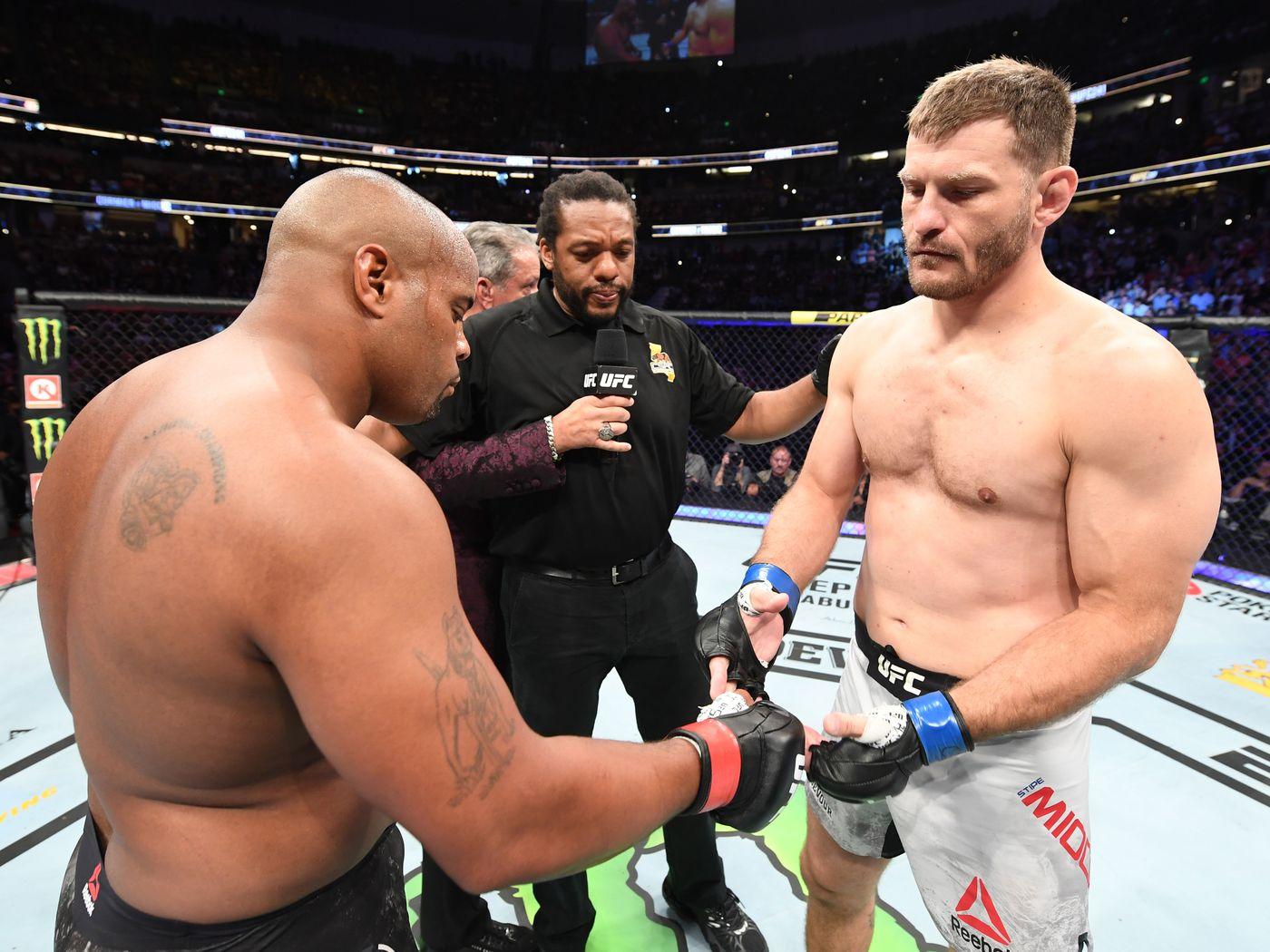UFC 252 Cormier Miocic