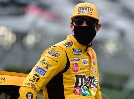 Kyle Busch is winless in 2020, and on Sunday at New Hampshire, blew a tire and crashed, finishing last. (Image: Getty)