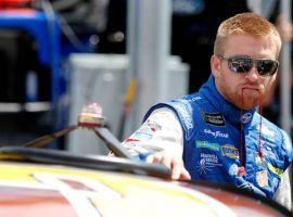 NASCAR driver Chris Buescher said he is looking forward to the Dover doubleheader this weekend at the mile-long track. (Image: Getty)