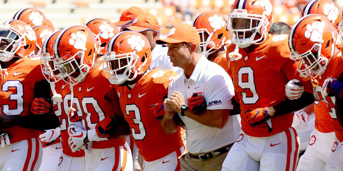 Clemson football AP Top 25 College Football Poll