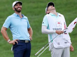 Dustin Johnson dominated the field at The Northern Trust, winning by 11 shots, and is now the favorite to win the Fed Ex Cup Playoffs. (Image: Getty)