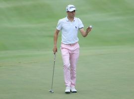 Justin Thomas is the new favorite to win the PGA Championship with odds at 9/1. (Image: Getty)