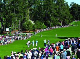 For the first time since the tournament began in1934, there will not be patrons at the Masters. (Image: Getty)