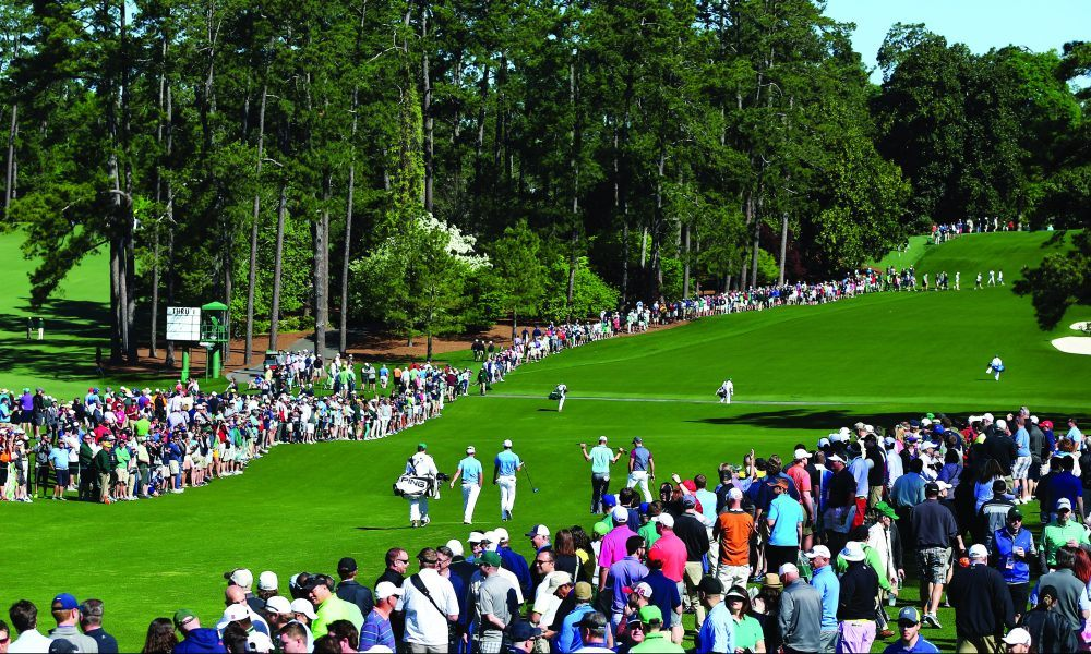 Augusta National Masters no fans