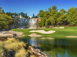 The CJ Cup is moving for a year from South Korea to Shadow Creek Golf Club in Las Vegas, the same venue that hosted the exhibition match between Tiger Woods and Phil Mickelson in 2018.. (Image: Wynn Las Vegas/Brian Oar)
