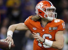 Trevor Lawrence is the 2/1 favorite to win the 2020 Heisman Trophy award. (Image: AP)