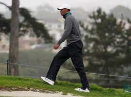 Tiger Woods said he is ready to go for the PGA Championship, but oddsmakers have him lower down the betting board for the major. (Image: AP)