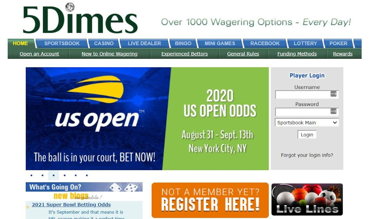 5Dimes US market