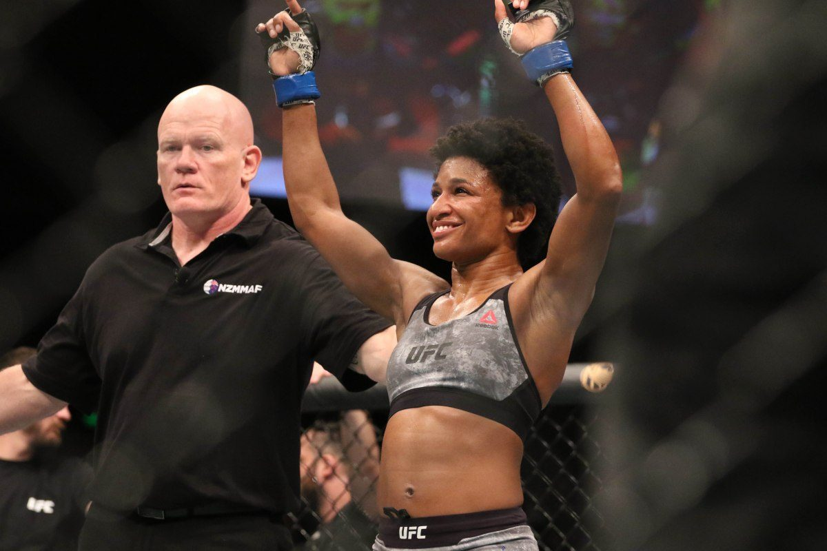 Angela Hill Michelle Waterson UFC