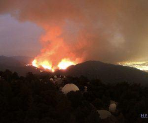 Bobcat Fire-Santa Anita Opener