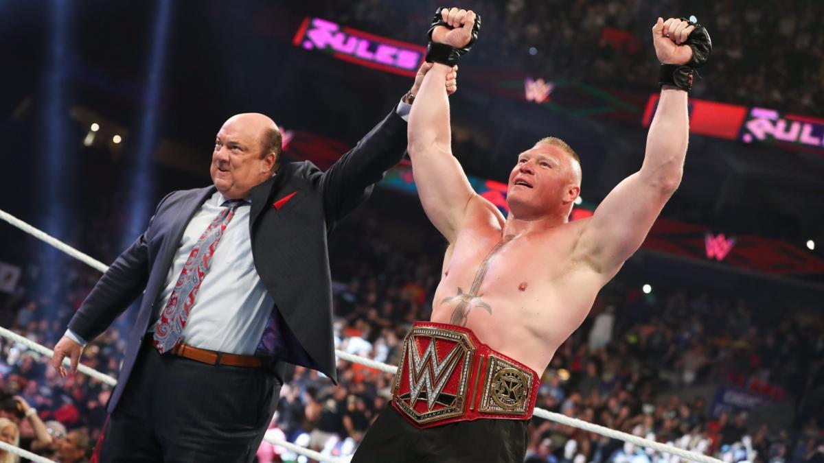 Brock Lesnar free agent