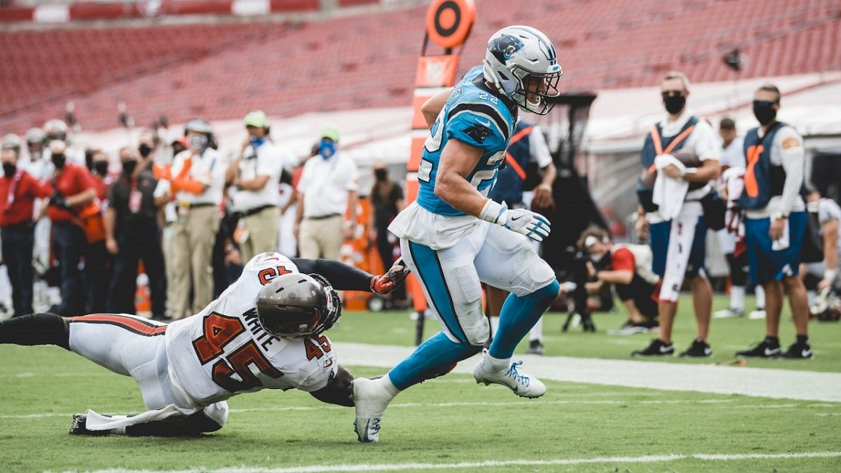 Christian McCaffrey Injury Ankle Out Panthers