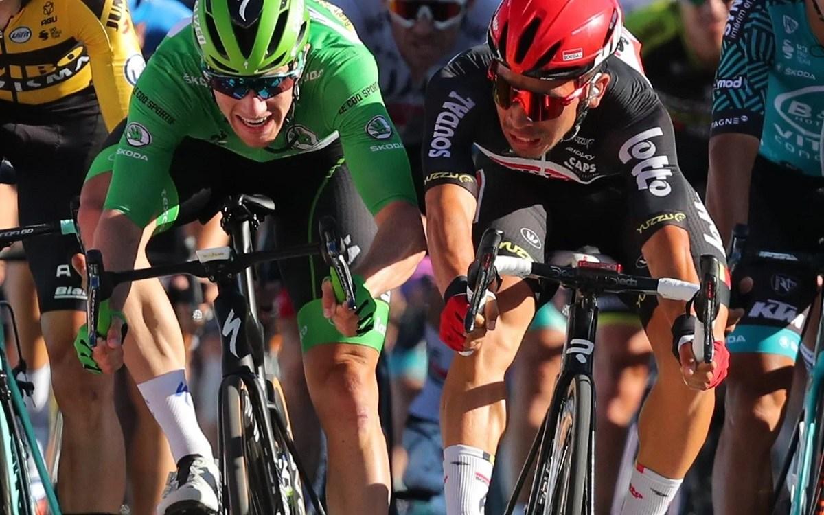 Caleb Ewan Tahap 12 Tour de France