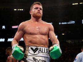 Canelo Alvarez is suing DAZN and Golden Boy Promotions due to a dispute over his 11-fight, $365 million contract. (Image: Getty)