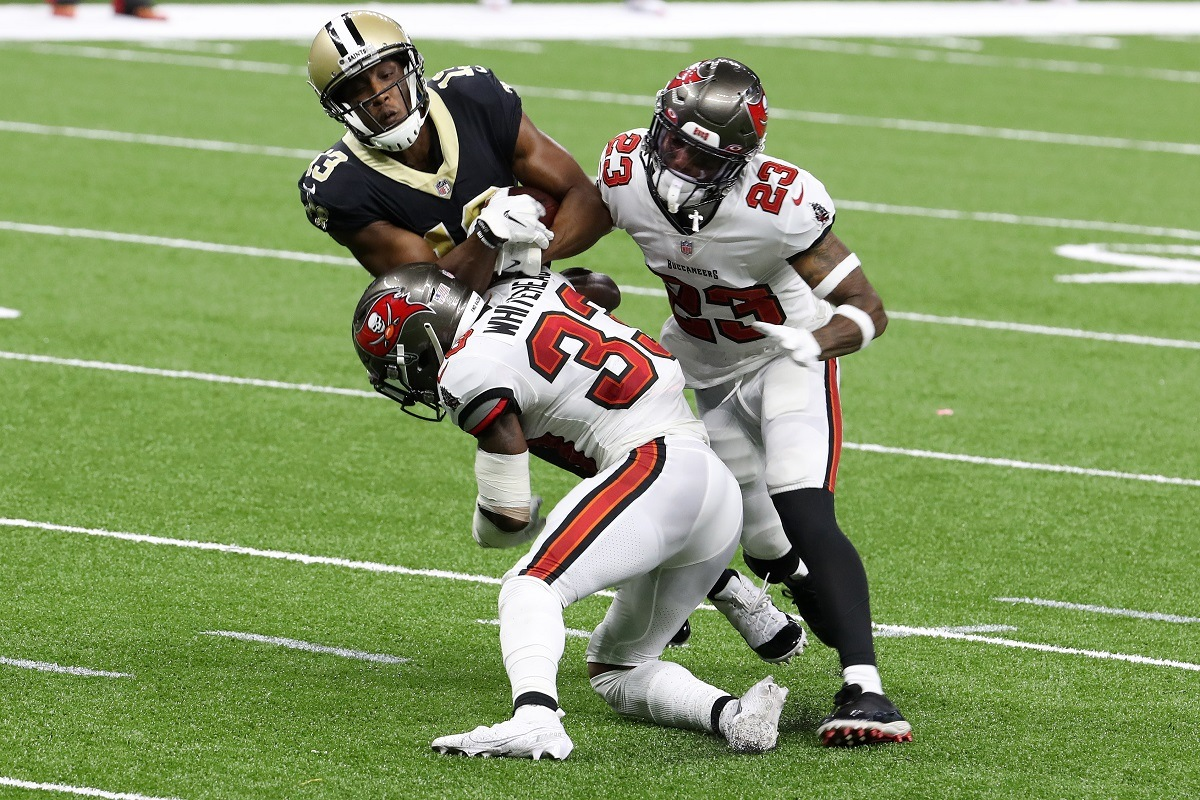 New Orleans Saints WR Michael Thomas Ankle Injury Out