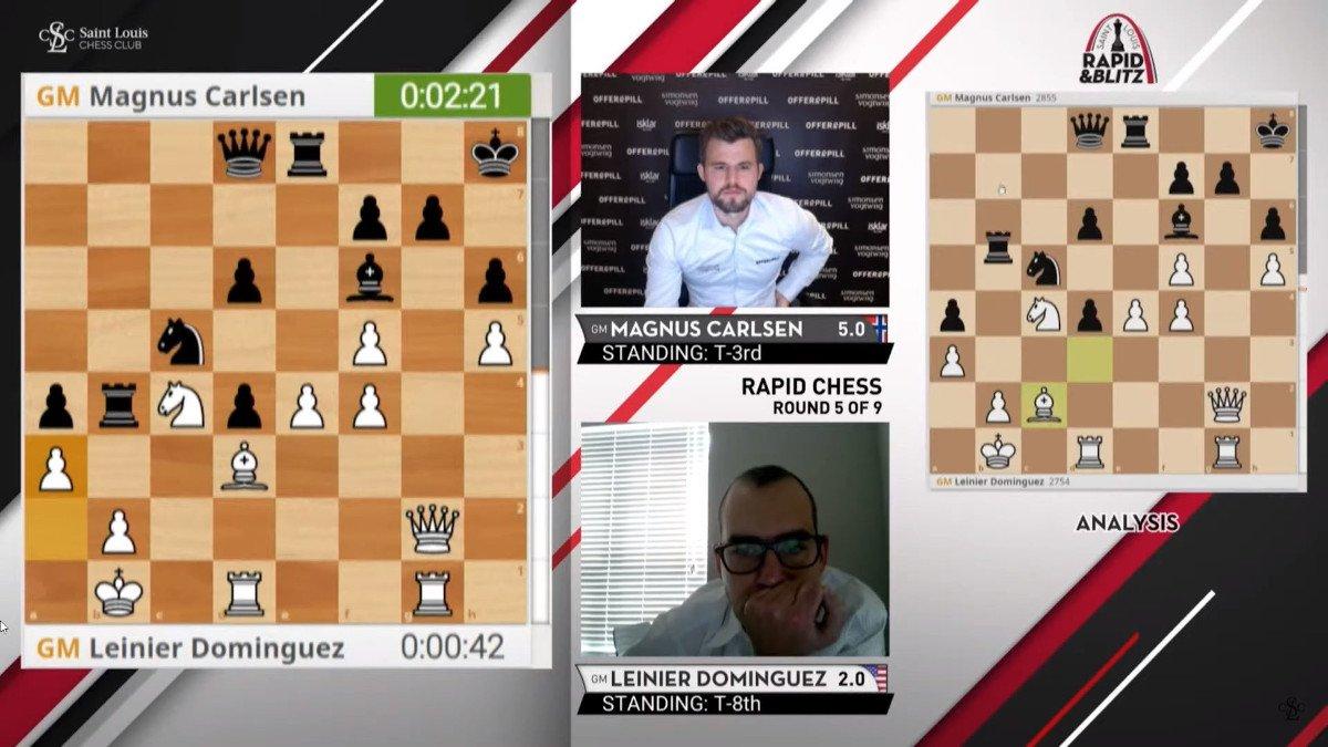 Saint Louis Rapid Blitz Carlsen