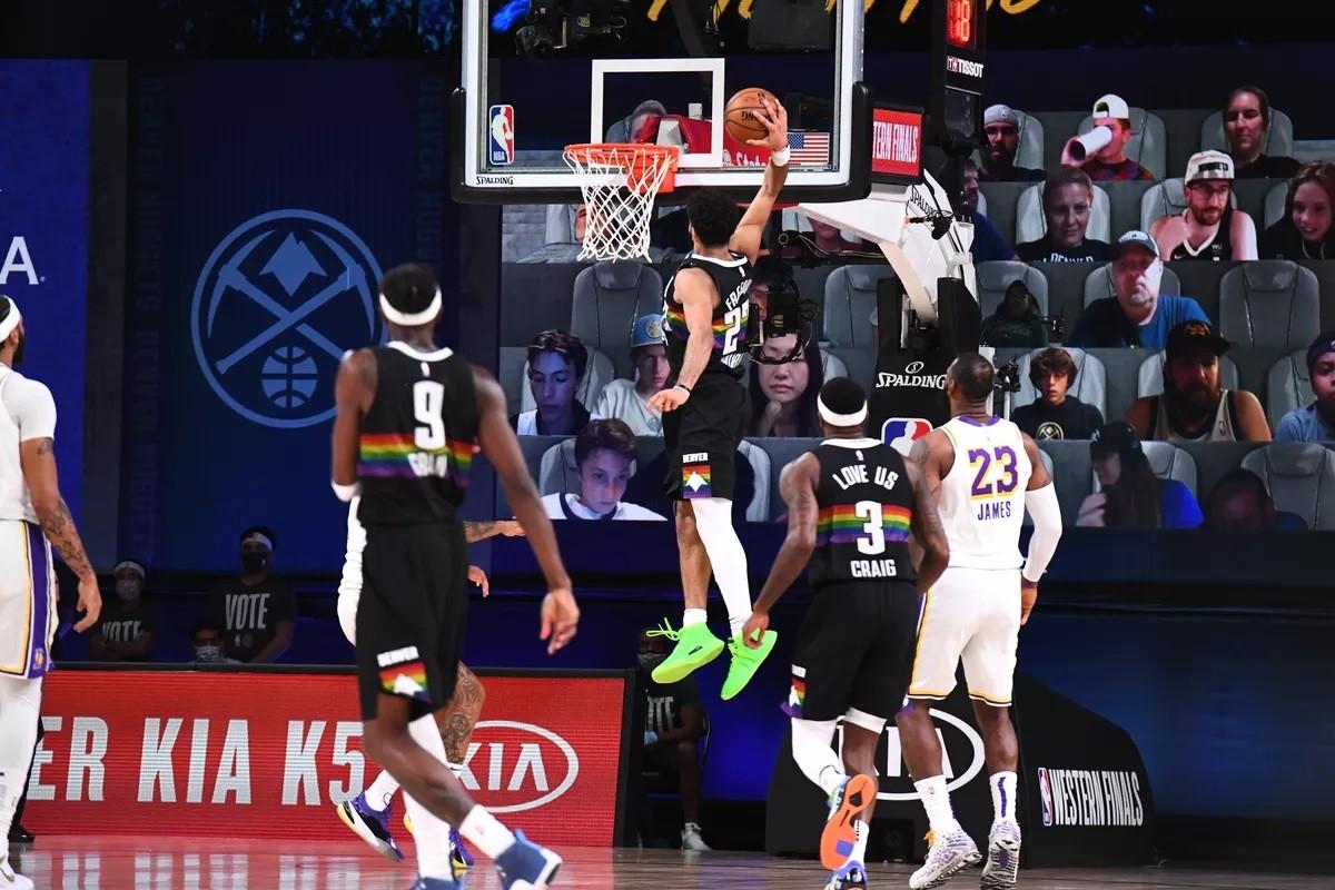 Jamal Murray Denver Nuggets LA Lakers